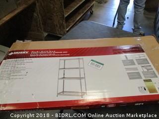 4-Shelf Heavy Duty Storage Unit (Missing Parts)