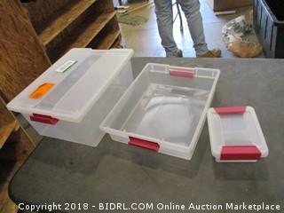 Sterilite Clip Box Set