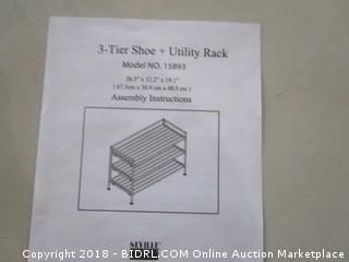 3 Tier Shoe Rack +