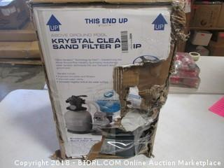 Krystal Clean Sand Filter Pump