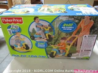 Fisher Price  Rock, Roll n Ride Trike