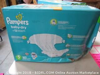 Papmpers Size 5