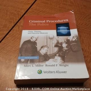 Criminal Procedures  The Police