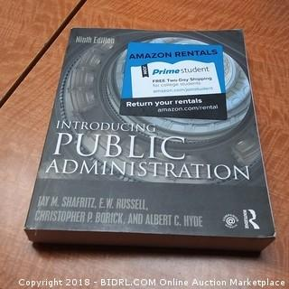 Introducting Public Administration