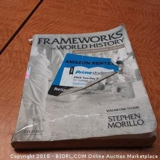 Frameworks of World History