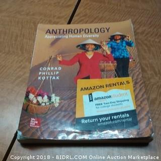 Anthropology Appreciating Human Diversity