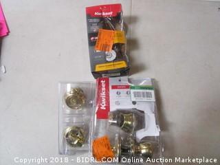 Kwikset Combo Pack Doorknob
