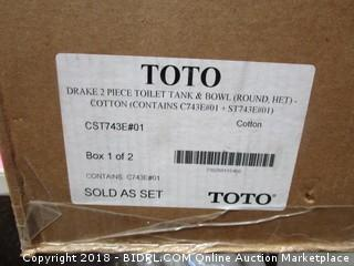TOTO Toilet  Bowl See Pictures