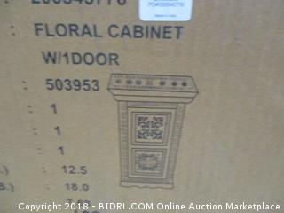 World Market Floarl Cabinet