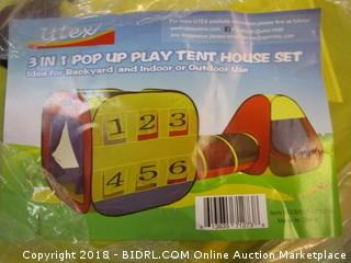 3 in1 Pop Up Play Tent House
