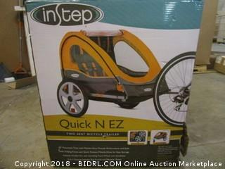 Instep Two Seat Bicycle Trailer
