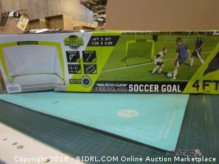 Fiberglass Soccer Goal