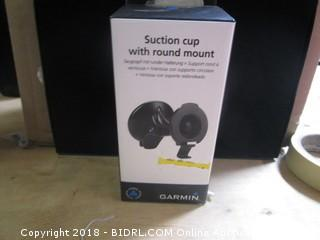 Suction Cup Round Mount