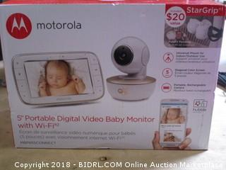 "5"" Portable Digital Video Baby Monitor"