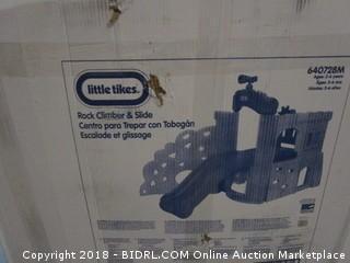 Little Tikes Rock Climber & Slide (Retail $383.00)