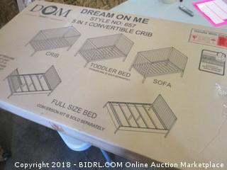 5 in 1 Convertible Crib