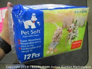 Pet Diapers Medium