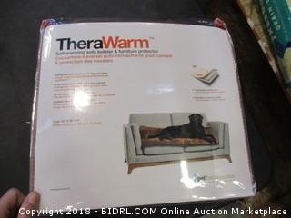 Self-Warming Sofa Bolster and Furniture Protector