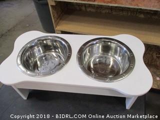 Pet Water and Food Bowl