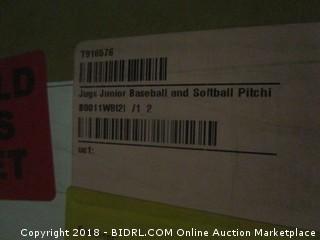 Jugs Junior Baseball and Softball Pitching Machine (Retail $1,349.00)