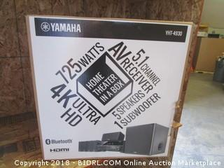 Yamaha YHT-4930UBL 5.1-Channel Home Theater in a Box System with Bluetooth (Retail $459.00)
