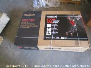 Lifetime 52 Inch Portable Basketball Hoop System (Retail $293.00)