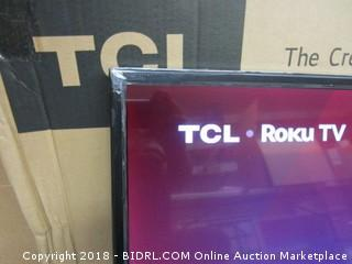 TCL Monitor - Powers On