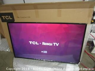 TCL 49S405 49-Inch 4K UHD Smart LED Roku TV (Retail $299.00)