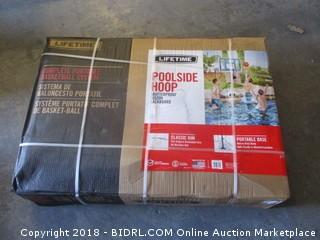 Lifetime Pool Side Basketball System (Retail $140.00)