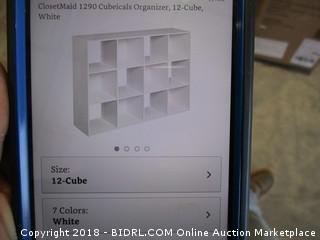 Cube Organizer