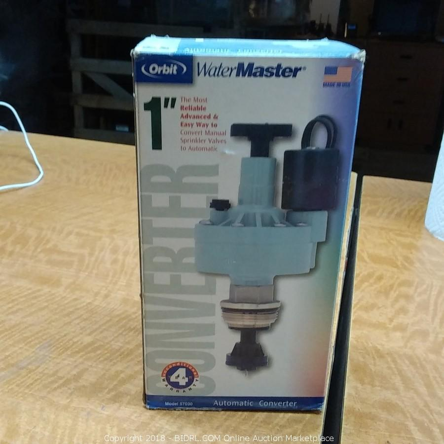 "Orbit Water Master 1"" Convert Manual Sprinkler Valve to Automatic"