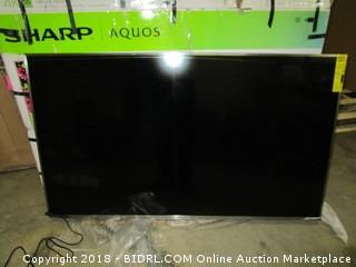 "Sharp  Ultra HD Smart TV 55""  Defective See Pictures"