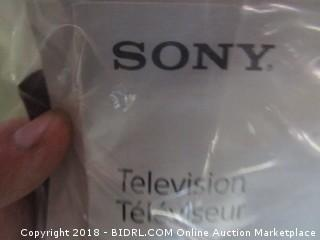 Sony TV Powers On See Pictures