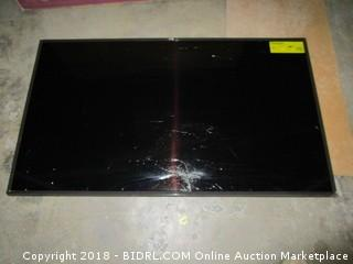 "LG UHD TV 49""  Defective, Cracked Screen See Pictures"