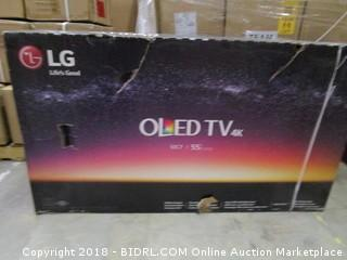"LG  OLED TV 4K 55""  Powers On"