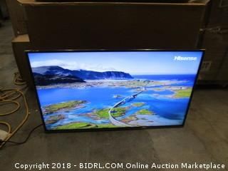 Hisense LTD LCD TV  Powers On - In Box- See Pictures
