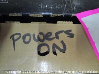 "VIZIO 48""  TV Powers On,  In Box See Pictures"