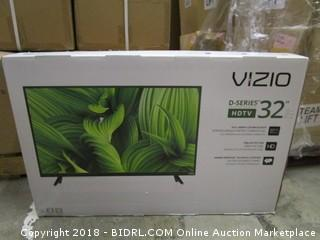 "VIZIO HDTV 32"" Powers on See Pictures"