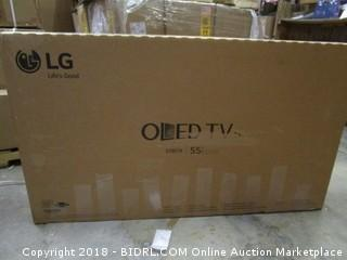 "LG OLED TV  55"" Powers On See Pictures"