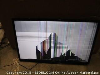 Samsung TV  Powers on, Cracked Screen See Pictures