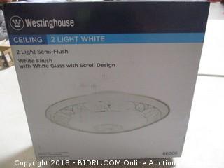 Westinghouse Ceiling Semi Flush Light