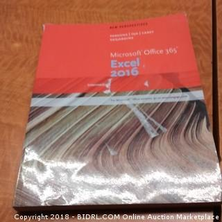 Microsoft Office 365 Excel 2016