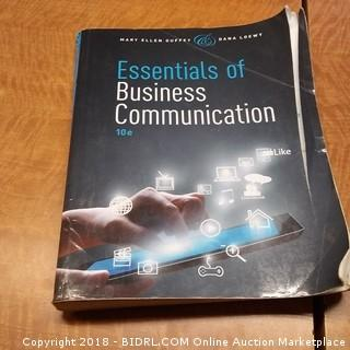 Essentials of Business Communication .