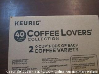 Keurig Coffee Lovers Variety See Pictures