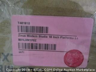 Zinus Modern Studio 10 inch Platform Bed