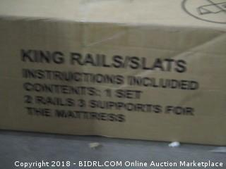 Millennium King Rails/Slats