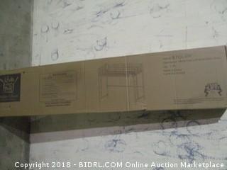 Walker Edison Metal Twin Loft Bunk Bed