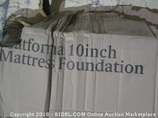 Platform 10inch Mattress Foundation
