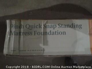 9 Inch Quick Snap Standing Mattress Foundation