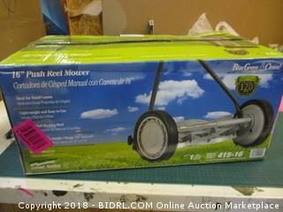 Push Reel Mower